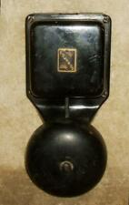 Late 1800's Edwards Signaling Company Electric Bell