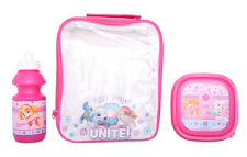 Kids  School Insulated Lunch Box Sandwich Bag Set And Bottle