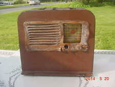 Vintage 1942 Philco Model 42-PT88 Tube Radio WWII War Relic Sgt Milton Crawford