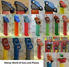 PEZ - Disney World of Cars (& Planes) Series - Choose Character from Menu