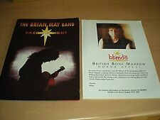 The Brian May Band Back To The Light Programme + BBMDA Poster