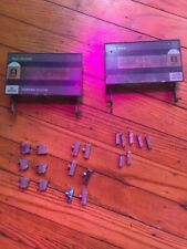 Electro Brand Boombox Parts Sliders Buttons Knobs Cassette Deck Doors Tape 7985