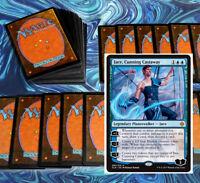 mtg BLUE MERFOLK DECK Magic the Gathering rares 60 cards jace nezahal kopala