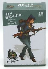 Wargamer HD-28-14 Clara from the Union Infantry (28mm) Hot & Dangerous Female