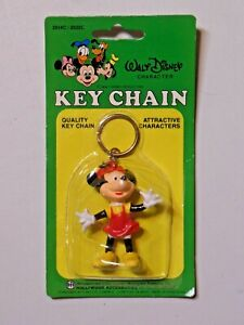 Walt Disney Character Key Chain Minnie Mouse Monogram Products, Inc. NIP L2