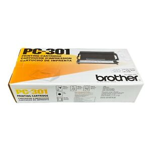 Brother Toner PC-301 Printing Cartridge Genuine Brother, New in Box FREE SHIP