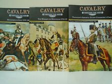 Del Prado 'Cavalry Through the Ages' Magazines x 3 (Osprey) Napoleon