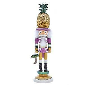 "19.5"" Hollywood™ Pineapple Hat Nutcracker w"