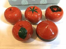 Japanese Harvest KOBACHI confectionery box japan Lacquer ware style