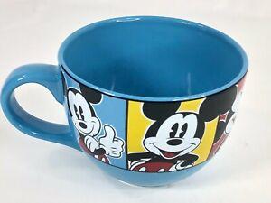 Disney Mickey Mouse 24 oz Jumbo Coffee Soup Cup Mug