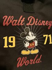 New listing Walt Disney World 1971 Mickey Mouse Black Duffle Gym Bag