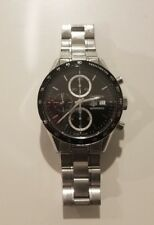 Tag Heuer Carrera Chronograph CV2010.BA0794 Black Dial Wristwatch