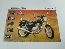 Prospectus Catalogue Brochure Moto Suzuki GSX 250 Thunder 1999 Indonesia