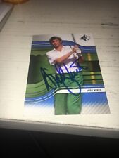Andy North Signed 2012  Golf Card