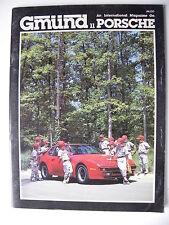 Revue Automobile Gmund PORSCHE n° 11 en anglais USA