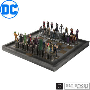 Eaglemoss DC Chess Collection The Complete Batman Chess Set New and In Stock