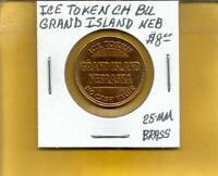 Ramada Inn Grand Island Nebraska Token G/F Ice 25 MM Brass