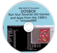 IBM DOS PC Emulator - DOSBox - Run Favorite 1980's Games with VintageBBS Client