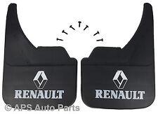 Universal Van Mudflaps Front Rear Renault Logo Trafic Mk1 Mk2 Mk3 Mud Flap Guard