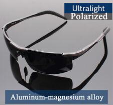 Aluminum Alloy Magnesium Men Polarized Sunglasses 100%UVA +BOX&CLEANER+TRACKING