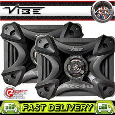 "Vibe BlackDeath QB69 Square 6x9"" inch Car Parcel Shelf Speakers 1200 Watts  Set"