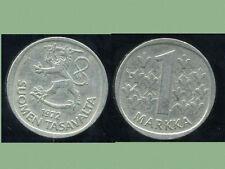 FINLANDE 1 markka 1972  ( bis )