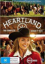 HEARTLAND Series : Seasons 1 -  5 ( NEW DVD )