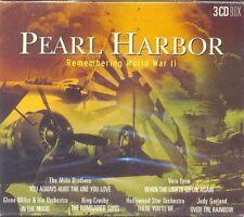 Various Artists: PEARL HARBOUR - Remembering World War II - 3 CD - MUS