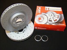 Vw Golf R32 Zimmermann 350mm Discs, Hub Rings for 6pot Brake Caliper Converion