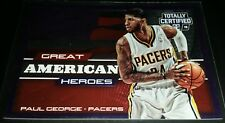 Paul George 2014-15 Totally Certified GREAT AMERICAN HEROES Card (#'d 094/299)