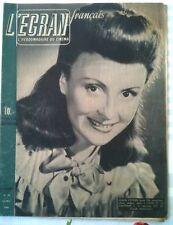 L'ECRAN hebdo du cinéma français N°33 du 13/2/1946