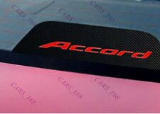 Amazing Carbon Fiber Break Light Stickers Adhesive Graphic For Honda Accord