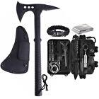 Survival Kit Camping Tactical Tomahawk Axe Hatchet Outdoor EDC Gear Tools Set
