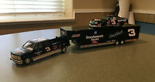 Action Dale Earnhardt #3 GM Goodwrench Stock Car & Crew Cab & Trailer Brookfield