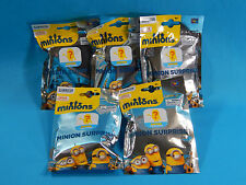 5x Minions Surprise Blind Bag Mystery Mini Figures Sealed