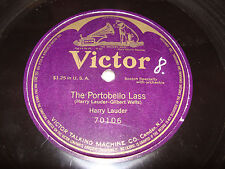 Victor 78 One Sided The Portobello Lass Harry Lauder