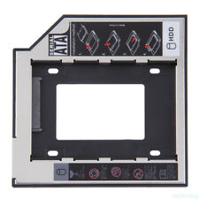 SATA 2nd HDD SSD Hard Drive Caddy for CD/DVD-ROM Optical Bay Hard Disk Bracket