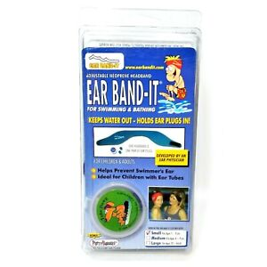 Ear Band-It Ear Plugs For Swimming & Bathing Bonus Putty Buddies Small Ages 1-3