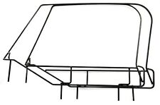 JEEP YJ 1987-1995 ROUNDED CORNER SOFT UPPER DOOR WINDOW FRAME SET (BOTH SIDES) ,