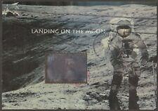 Scott #3413 Used Souvenir Sheet, Landing on the Moon
