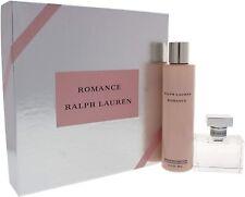 Ralph Lauren ROMANCE Gift Set 50ml Eau De Parfum EDP & 200ml Sensuous Body