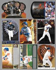 LOT OF 8 MIKE PIAZZA DIE CUT INSERT CARDS FROM PACIFIC TRADING CARDS