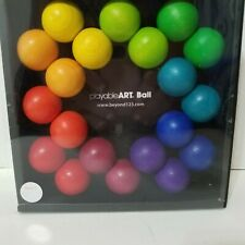 Playable ART Ball Fidget Relaxation Fun Art Can Combine with Turn Connectors