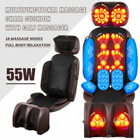 Shiatsu Massage Chair Pad Foldable Calf Massager for  Home & Office Use