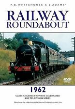 RAILWAY ROUNDABOUT -1962 - CLASSIC SCENES DVD - FREE POST IN UK