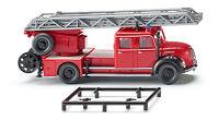 Wiking 086234 H0 Feuerwehr - Drehleiter (Magirus DL 25h) NEU OVP/