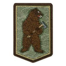 PDW Bushcraft Bear With Axe Morale Patch Prometheus Design Werx TAD Unique