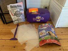 Shrinky Dinks Incredible Maker Vintage Toy Art Oven Instructions Stick Spirit