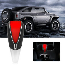 Car Auto Touch Motion Activated Red LED Light Gear Shift Lever Knob Shifter GLB