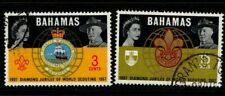 Bahamas 1967 Scouts World Scouting Jubilee SG310-11 Used